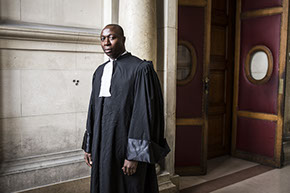 Portrait de Serge Money, avocat
