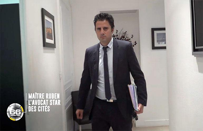 Replay M6 : portrait de Maître Steeve Ruben dans 66 minutes