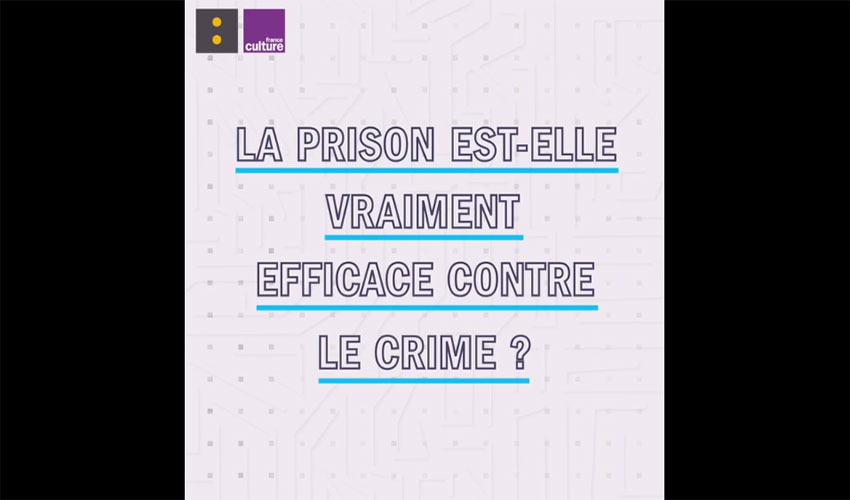 prison efficace contre le crime