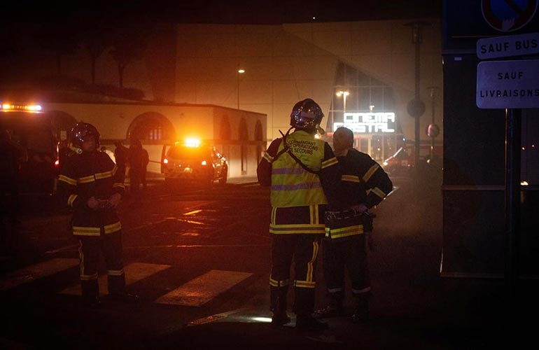 incendie criminel Aurillac parking souterrain
