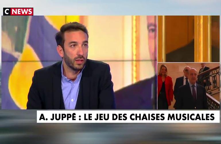 Maître Honegger sur CNews – La nomination d'Alain Juppé au Conseil Constitutionnel