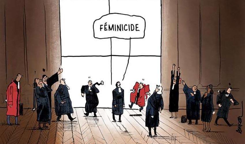féminicide dessin