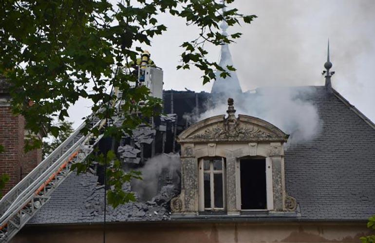 incendie Champien Avallon