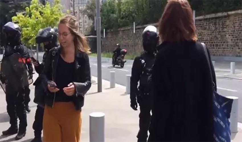 verbalisation avocat devant le tribunal de Paris