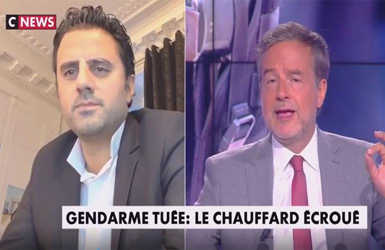 Maître Ruben sur CNews : gendarme tuée, le chauffard écroué