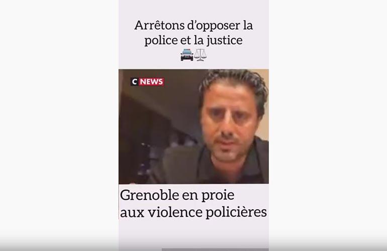 Maître Ruben sur CNews : Arrêtons d'opposer police et justice