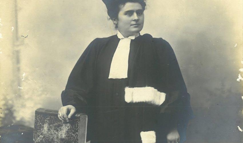 Marguerite Dilhan, première femme avocate