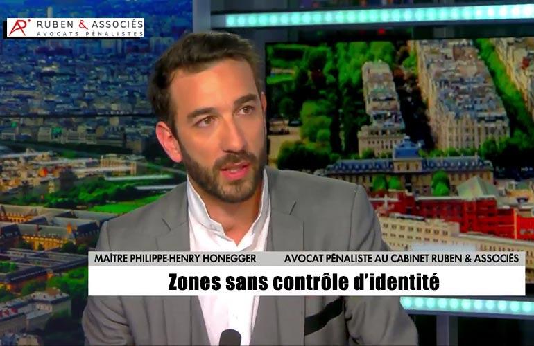 Zones sans contrôle d'identité