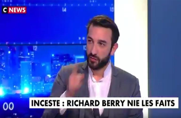 Maître Honegger sur CNews : Accusation d'inceste contre Richard Berry les faits prescrits
