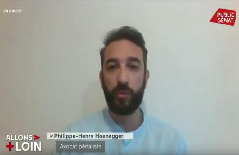 Maître Honegger sur Public Sénat : dans l'affaire Halimi l'émotion est légitime