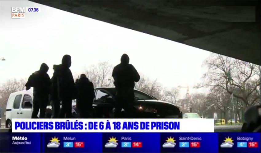 policiers brûlés à Viry-Châtillon