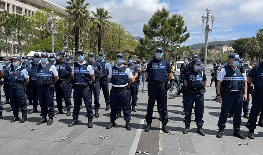 policiers municipaux Nice