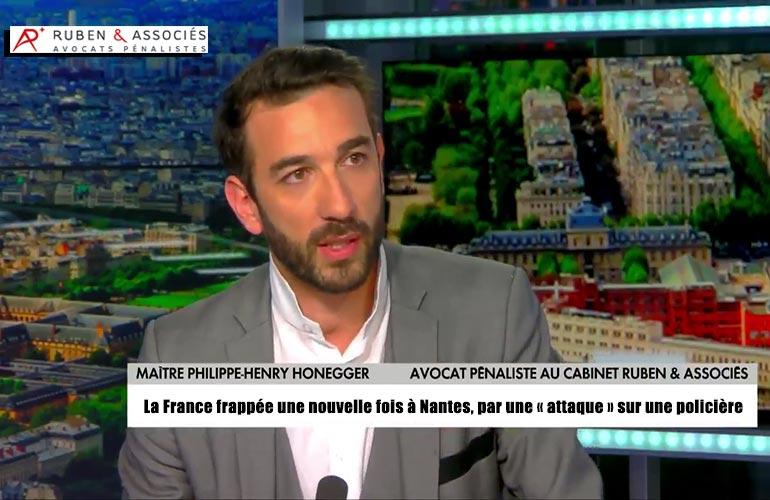 La France frappée une nouvelle fois à Nantes, par une « attaque » sur une policière