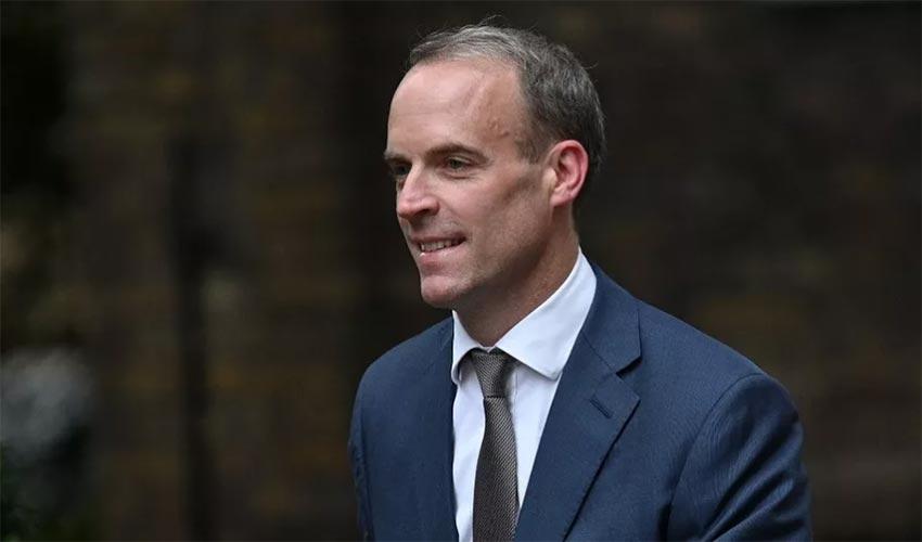 Dominic Raab, ministre de la justice britannique